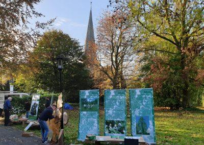 Ausrufung Eibe Flintbek: Ausstellung der Dt. Dendrologischen Ges.