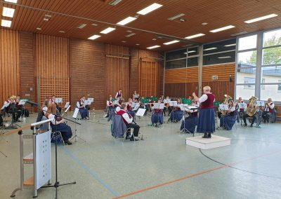 Musikverein Hochmössingen in großer Besetzung