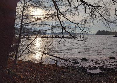 Dicke Marie: Winterstimmung am See